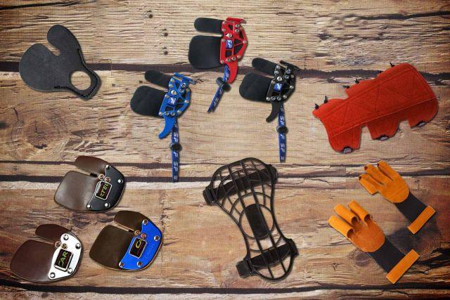 Bogenhandschuh, Armschutz und Fingertab kaufen