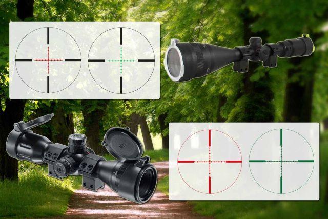 Zielfernrohre für luftgewehre komma