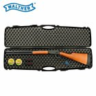 SET Walther Lever Action long 4,5 mm Diabolo CO2-Gewehr 88 Gramm Version (P18) + Koffer inklusive 2 Zahlenschlösser + 1000 Diabolos