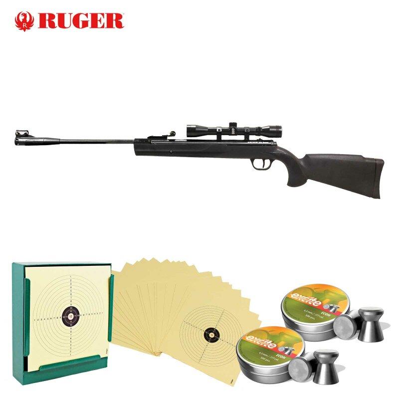 Luftgewehrscheibe 14 x 14 cm Zielscheibe Luftgewehr 1000 St/ück
