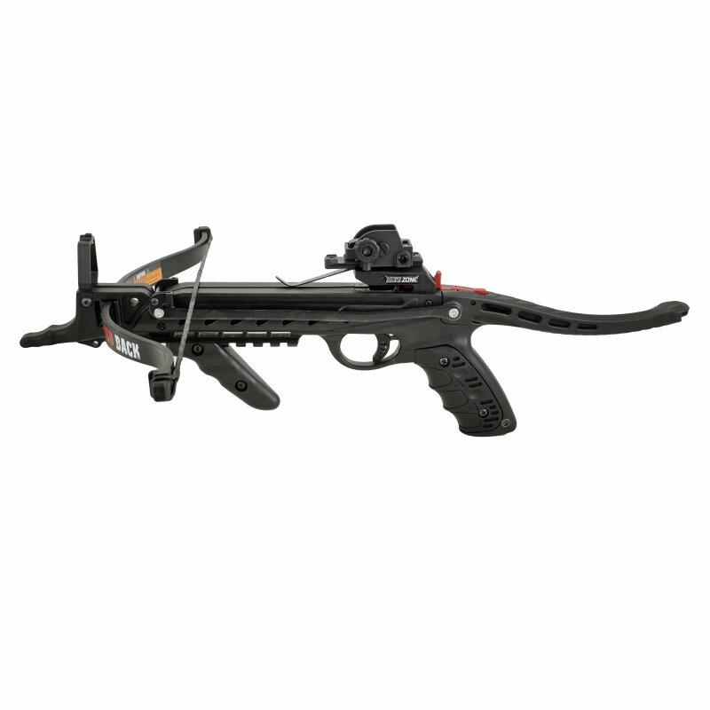 SET Hori Zone Pistolenarmbrust Redback RTS Schwarz 80 lbs 235 fps (P18)