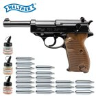 Superset Walther P38 - 4,5 mm Stahl BB Blow Back Co2-Pistole (P18)