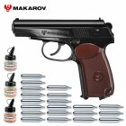 Superset Makarov Co2-Pistole 4,5 mm BB (P18)