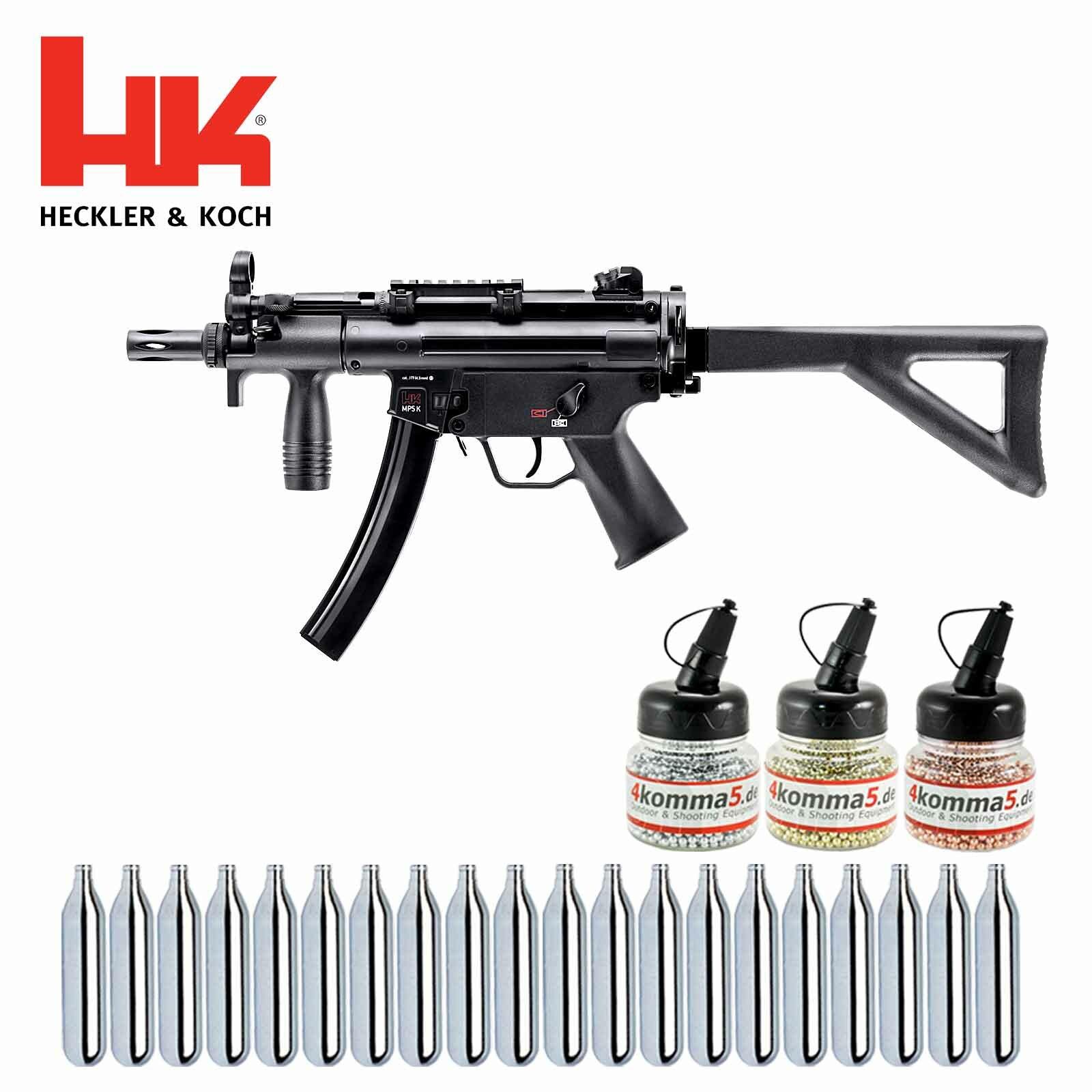 Superset Heckler & Koch MP5 K-PDW Cal. 4,5 Mm Stahl BB Co2