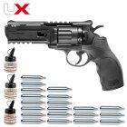 Superset Umarex UX Tornado Co2-Revolver Kaliber 4,5 mm Stahl BB (P18)