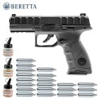 Superset Beretta APX Stahl BB Co2-Pistole 4,5 mm Blow Back (P18)