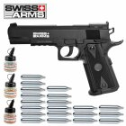 Superset Swiss Arms P1911 Match Co2 Pistole 4,5 mm BB (P18)