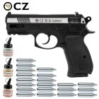 Superset CZ75D Compact 4,5 mm Stahl BB Dual Tone Co2 Pistole Non Blow Back (P18)