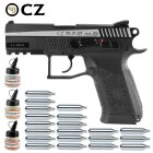Superset CZ 75 P-07 Duty Dual Tone 4,5 mm Stahl BB Co2-Pistole Blow Back (P18)
