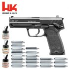 Superset Heckler & Koch USP 4,5 mm BB Co2-Pistole mit Blowback (P18)