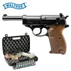 Kofferset Walther P38 - 4,5 mm Stahl BB Blow Back Co2-Pistole (P18)