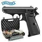 Kofferset Walther PPK/S Co2-Pistole Blow Back Kaliber 4,5 mm Stahl BB (P18)