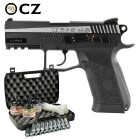 Kofferset CZ 75 P-07 Duty Dual Tone 4,5 mm Stahl BB Co2-Pistole Blow Back (P18)