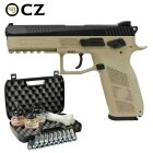 Kofferset CZ 75 P-09 Duty Bicolor 4,5 mm Stahl BB/Diabolo Co2-Pistole Blow Back (P18)
