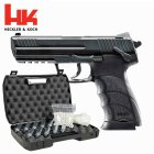 Komplettset Heckler & Koch HK45 Metallschlitten Softair-Co2-Pistole Kaliber 6 mm BB NBB (P18)
