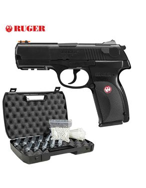 Komplettset Ruger P345 Softair-Co2-Pistole Kaliber 6 mm BB NBB (P18)