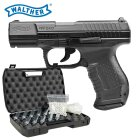 Komplettset Walther P99 DAO Softair-Co2-Pistole Kaliber 6 mm BB Blowback (P18)