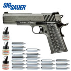 Superset Sig Sauer 1911 We the People Vollmetall Co2 Pistole Blow Back 4,5 mm BB (P18)