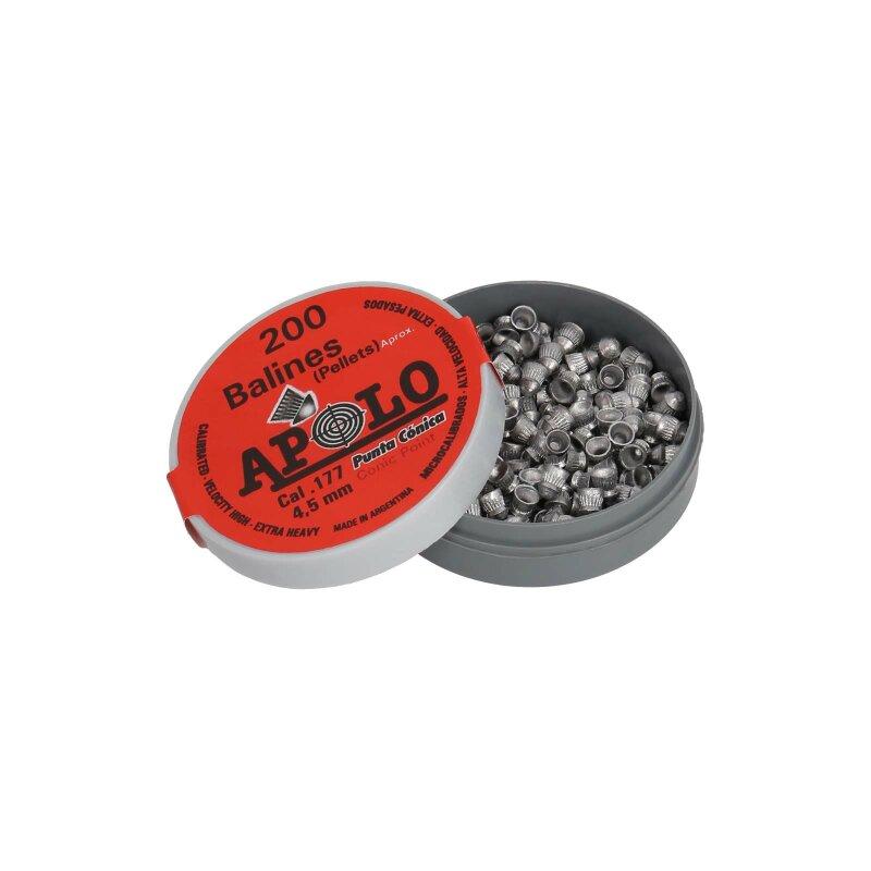 Kvintor Gamma Rundkopfdiabolos 4,5 mm 200er Dose
